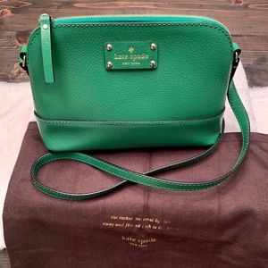NWOT Kate Spade Hanna Wellesley Sprout Green Purse
